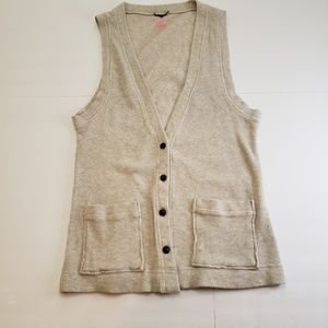 I ❤ Ronson Vest with Pockets Size Small
